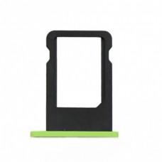 Лоток сим (SIM) карты iPhone 5С зеленый