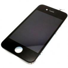 Дисплей iPhone 4S черный (модуль, в сборе, AAA)