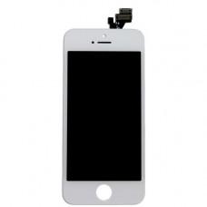 Дисплей iPhone 5 белый (модуль, в сборе, AAA)