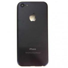 Корпус iPhone 5 как iPhone 7 Black Матовый (черный)