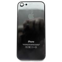 Корпус iPhone 5 в стиле iPhone 7 Jet Black Onyx глянцевый (черный) оникс