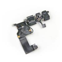 Шлейф нижний iPhone 5: разъем зарядки (черный) с аудио разъемом и микрофоном