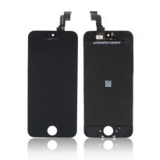 Дисплей iPhone 5C черный (модуль, в сборе, OEM)