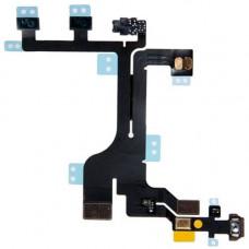 Шлейф боковой iPhone 5C: кнопка включения, кнопки громкости