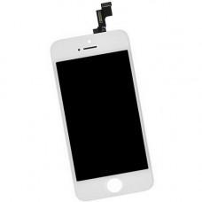 Дисплей iPhone 5S белый (модуль, в сборе, AAA)