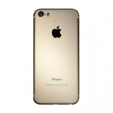 Корпус iPhone 5 в стиле iPhone 7 Gold золотой