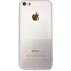 Корпус iPhone 5 в стиле iPhone 7 Silver Серебристый