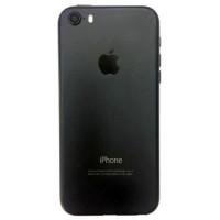 Корпус iPhone 5S как iPhone 7 Black Матовый (черный)