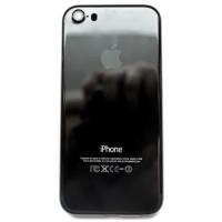 Корпус iPhone 5S в стиле iPhone 7 Jet Black Onyx глянцевый черный оникс