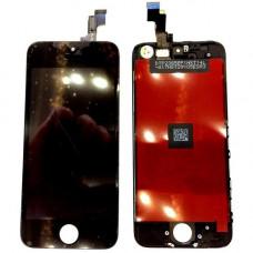 Дисплей iPhone 5S черный (модуль, в сборе, OEM)