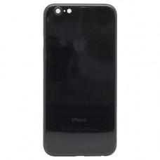Корпус iPhone 6 в стиле iPhone 7 черный глянцевый