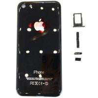 Корпус iPhone 5C черный глянец (Jet Black Onyx)