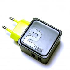 Сетевое зарядное устройство 2xUSB ROCK RWC 0239