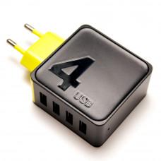 Сетевое зарядное устройство 4xUSB ROCK RWC 0236