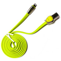 Кабель ROCK Space Dragon Cable USB – Lightning зеленый