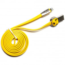 Кабель ROCK Tiger Cable USB – Lightning желтый