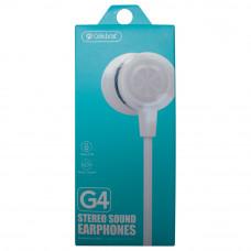 Наушники с микрофоном CELEBRAT G4 белые