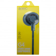 Наушники с микрофоном CELEBRAT G4 черные