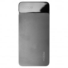 Внешний аккумулятор ROCK P38 10000 mAh серый