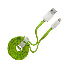 Кабель BASEUS String Lightning to USB Data зеленый