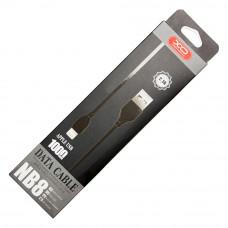 USB кабель XO NB8 Quick Charge Lightning to USB