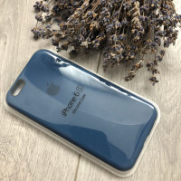 Чехол iPhone 6/6S Silicone Case синий темный