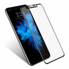 Защитное стекло iPhone X/XS 3D с черной рамкой