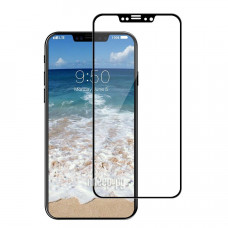 Защитное стекло iPhone XR/11 3D с черной рамкой