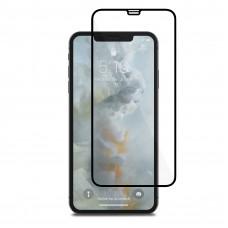Защитное стекло iPhone XS Max 3D с черной рамкой