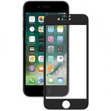 Защитное стекло iPhone 6/6S 3D/5D с черной рамкой