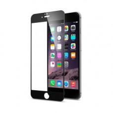 Защитное стекло iPhone 6 Plus / 6S Plus 3D/5D с черной рамкой
