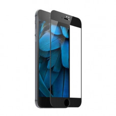 Защитное стекло iPhone 7 Plus / 8 Plus 3D/5D с черной рамкой