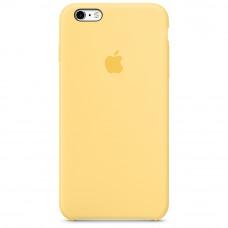 Чехол iPhone 6 Plus/6S Plus Silicone Case темный желтый