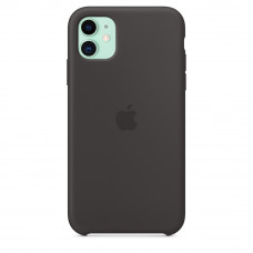 Чехол iPhone 11 Silicone Case черный