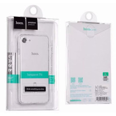 Чехол iPhone 7/8, прозрачный силикон HOCO