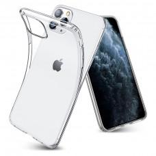 Чехол iPhone 11 Pro Max силиконовый прозрачный