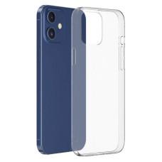 Чехол iPhone 12/12 Pro силиконовый прозрачный