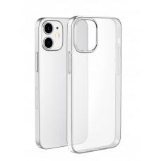 Чехол iPhone 12 Mini силиконовый прозрачный