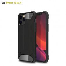 Чехол противоударный черный iPhone 12 Pro Max