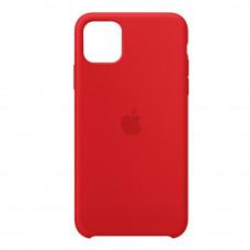 Чехол iPhone 11 Silicone Case красный