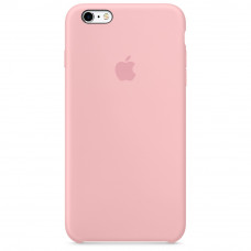 Силиконовый чехол iPhone 6/6S розовый