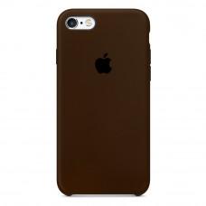 Чехол iPhone 5S/SE Silicone Case коричневый