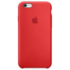 Силиконовый чехол iPhone 6/6S красный