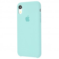 Чехол iPhone XR Silicone Case бирюзовый