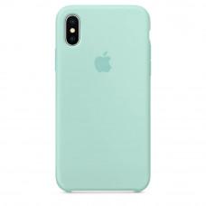 Чехол iPhone XS MAX Silicone Case зеленая лагуна