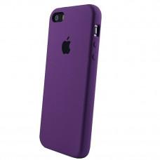 Чехол iPhone 5S/SE Silicone Case фиолетовый