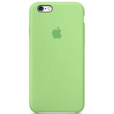 Чехол iPhone 6/6S Silicone Case яркий зеленый