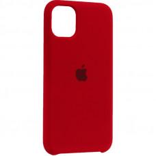Чехол iPhone 11 Pro Silicone Case красный