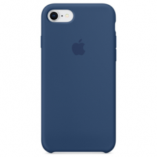 Чехол iPhone 7/8 Silicone Case синий