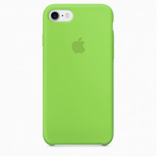 Силиконовый чехол iPhone 7/8 яркий зеленый
